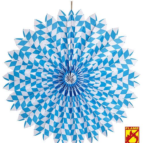 """""""BAVARIAN PAPER FAN"""" Ø 70 cm - flame retardant (02520)"""