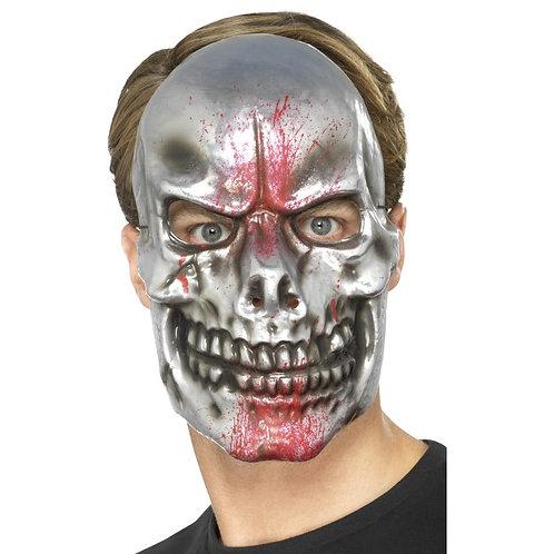 Blood Splatter Skull Mask SKU: 46985