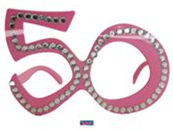 Glasses 50 Pink Diamondframe F 00752