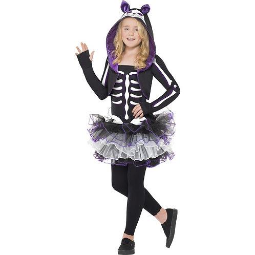 Skelly Cat Costume,Black SKU: 29636
