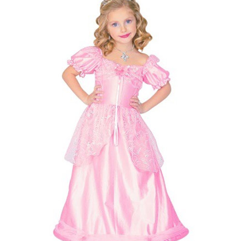 "PRINCESS"" pink (dress with wire hoop).4386L W"