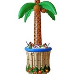 Inflatable Palm Tree Cooler. 2408P W