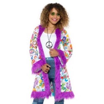 60s Groovy Hippie Coat 47338 S