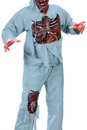 Zombie kirurg med maske