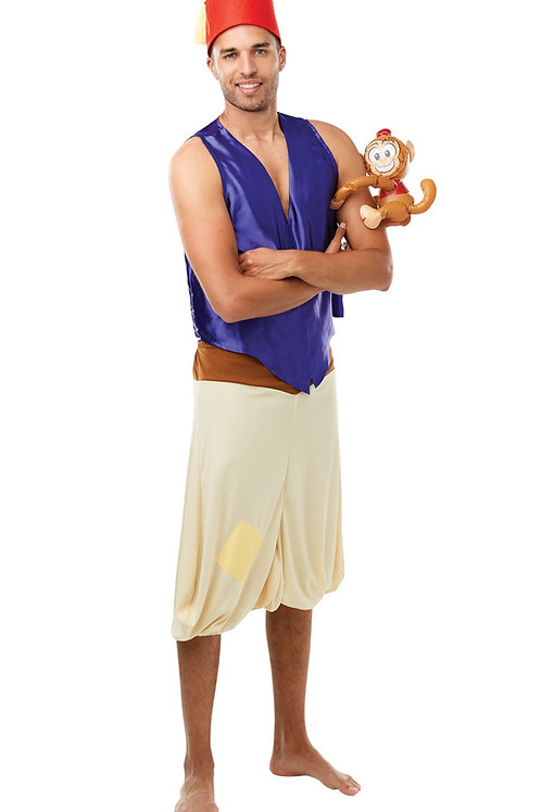 ALADDIN DELUXE COSTUME – MENS. 821237 RUBIES