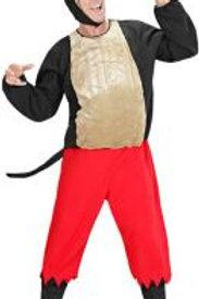 """""""BIG BAD WOLF"""" (stuffed coat, pants, boot ... 50951 W"""