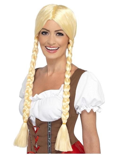 Bavarian Beauty Wig, Blonde. 21817 S