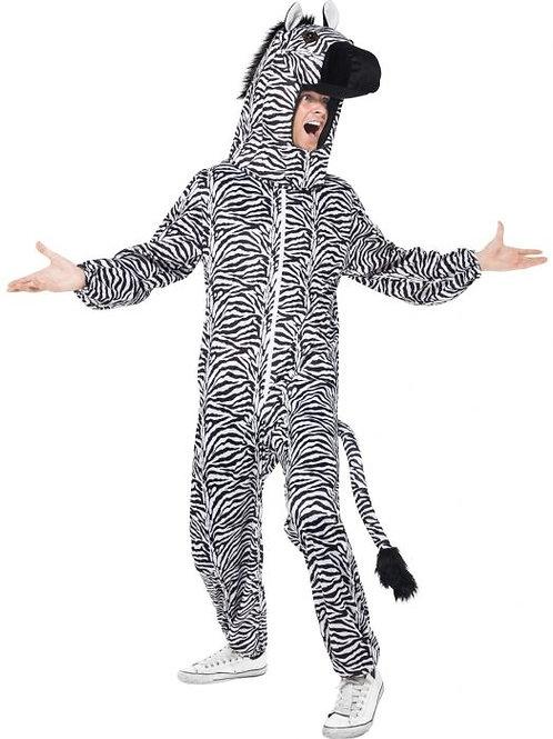 Zebra Costume, with Bodysuit and Hood. 43816 Smiffys