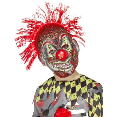 Twisted Clown Mask, Child's. 45882 S