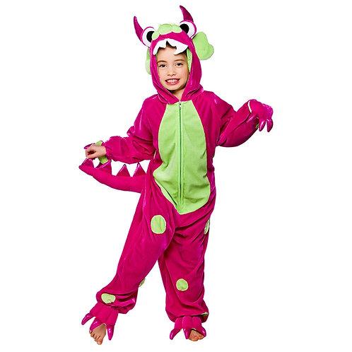 Mini Monster Hot Pink / Green Spots KA-4486 W
