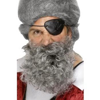 Pirate Beard Light Grey 1503 S
