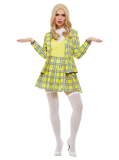 Clueless Cher Costume, Yellow. 20597 Smiffys