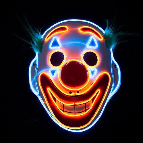 Happy Face E.L Clown Mask. MK-9853 Wicked