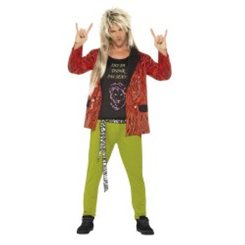80's Rock Star Costume SKU: 43193