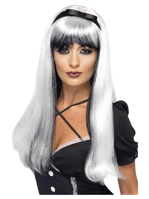«Bewitching Wig, White & Black» 20246 S