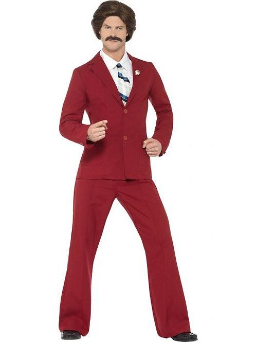 Anchorman Ron Burgundy Costume SKU 20501