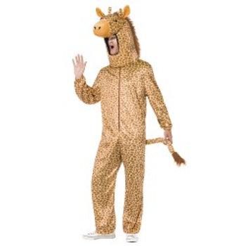 Giraffe Costume, Orange, with Bodysuit and Hood 53289 S