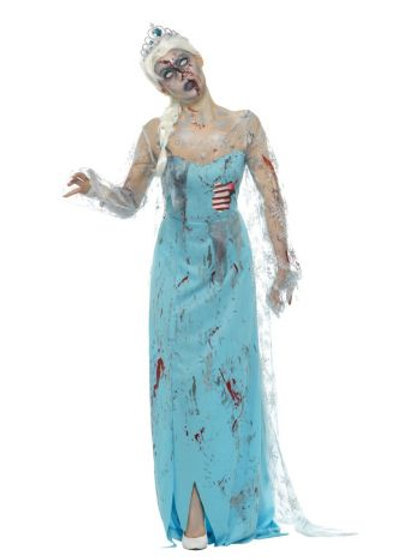 Zombie Froze to Death Costume S 46864