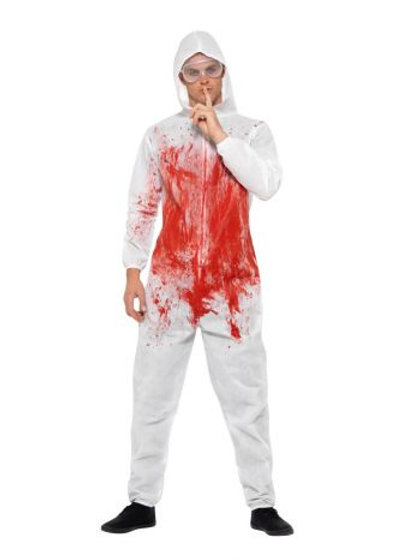 Bloody Forensic Overall Costume S 40326