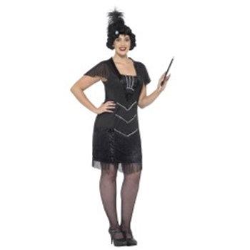 Curves Flapper Costume 26528 S