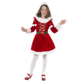 Little Miss Santa Costume 38196 S