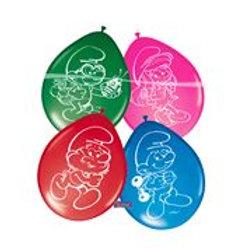 Balloons Smurfs/8 F 65065