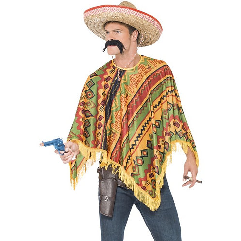 Poncho Instant Kit, with Moustache SKU: 43904