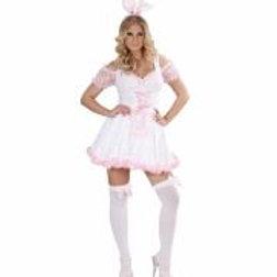 """BUNNY GIRL"" (dress, apron, ears) 74683 W"