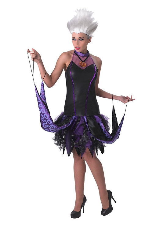 URSULA DELUXE COSTUME – WOMENS. 810250 RUBIES