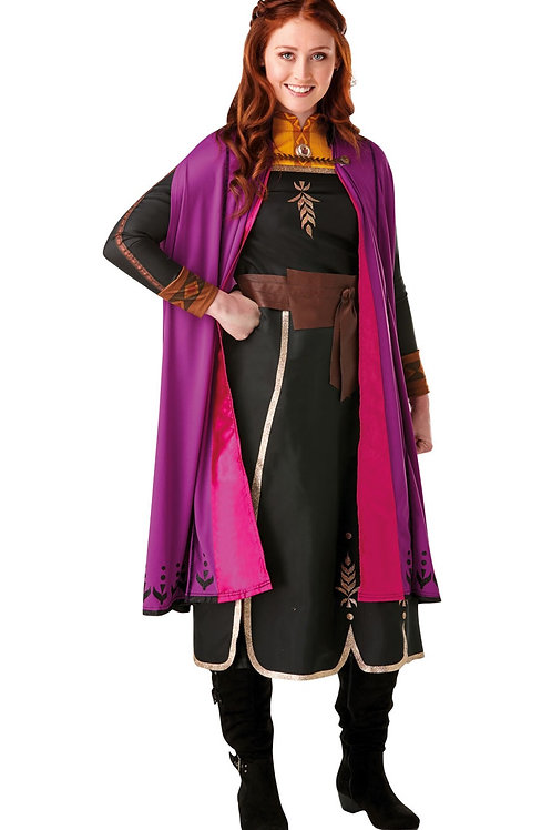 ANNA DELUXE FROZEN 2 COSTUME – WOMENS. 300286 RUBIES