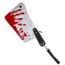 """""""BLOODY CLEAVER PURSE"""" W 07796"""