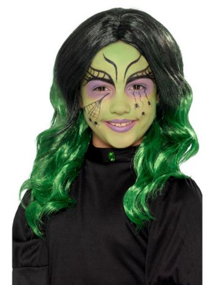 Kids Witch Wig S 49120