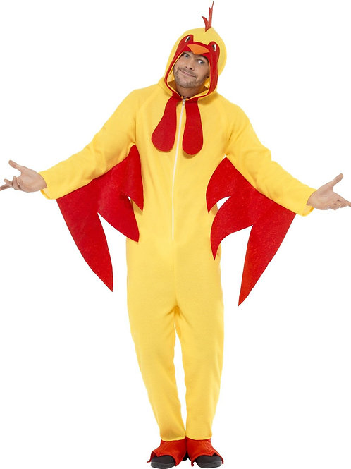 Chicken Costume, with Hooded All in One. 27857 S