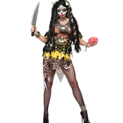 """VOODOO PRIESTESS"" (dress, cuffs, headband...W 48171"
