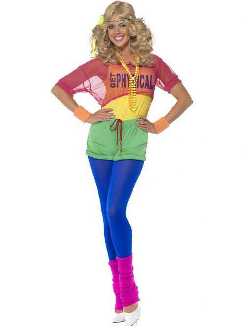 Let's Get Physical Girl Costume SKU 39465