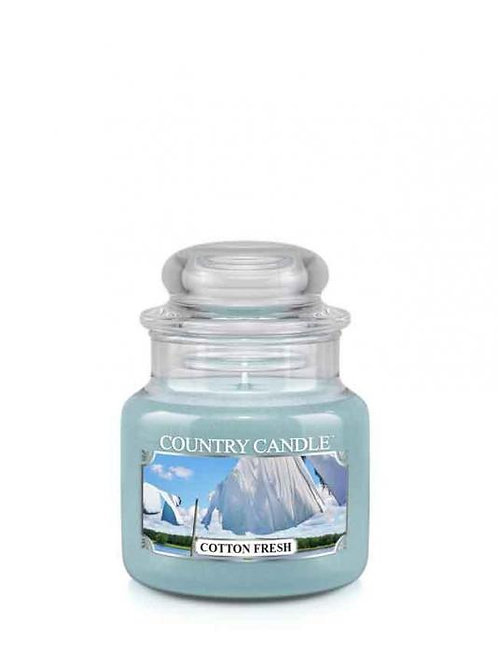 Country Candle - Cotton Fresh - Mini Jar