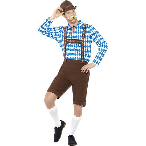 Bavarian Beer Man Costume SKU: 49658
