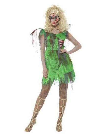 Zombie Fairy Costume. 46860 Smiffys