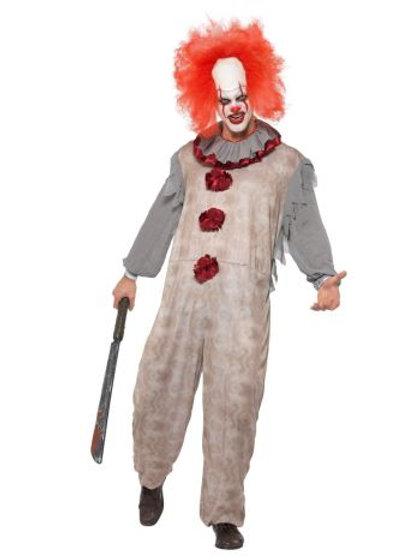 Vintage Clown Costume 40325 S