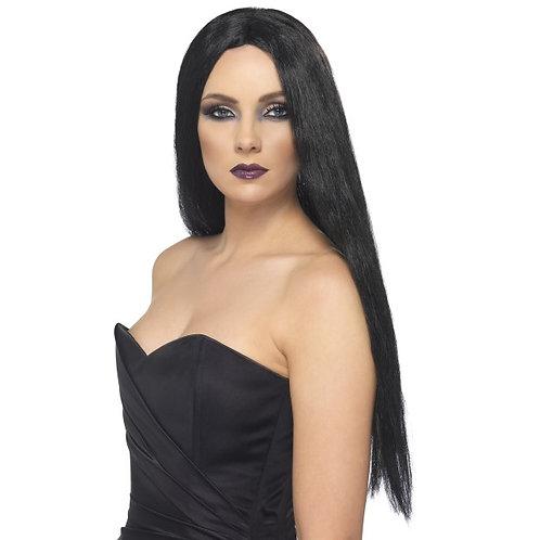 Witch Wig Black, Black SKU: 25880
