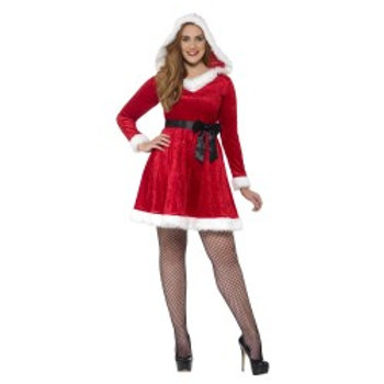 Curves Miss Santa Costume 44886 S