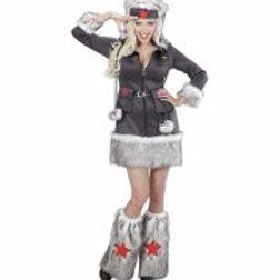 """""""NIKITA"""" (dress, hat, leg warmers) 02152"""