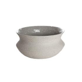 Potte keramikk lav 22x11cm (06918)