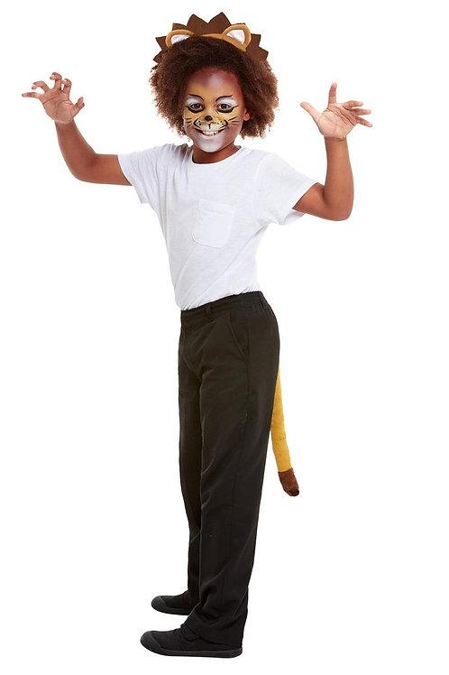 Smiffys Make Up FX, Kids Lion Kit, Aqua. 47722 Smiffys
