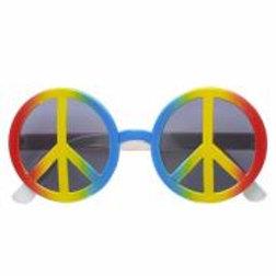 """LOVE & PEACE GLASSES"""" multicolor 6602H W"""