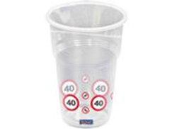 Cups 40 Traffic Sign 350ml /10 F 28240