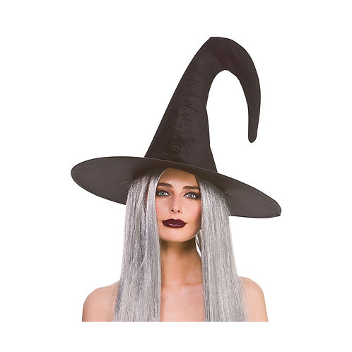 Witches Hat - Deluxe Velvet. AC-9756 Wicked