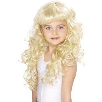 Girl's Princess Wig,Blonde 42131 S