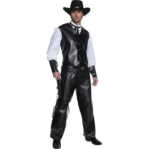 Authentic Western Gunslinger Costume SKU: 36159