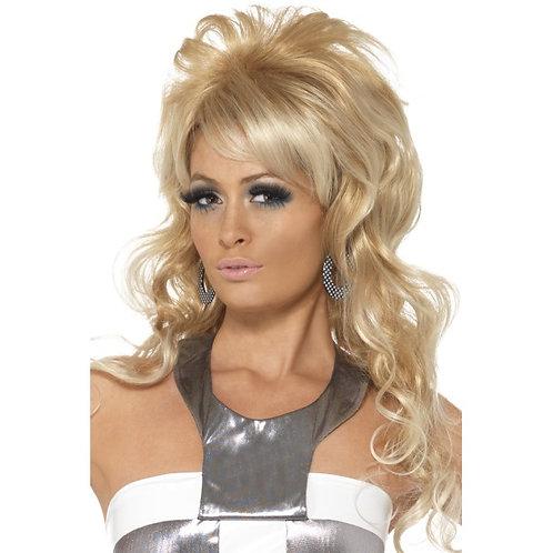 60'S Beauty Queen Wig,Blonde